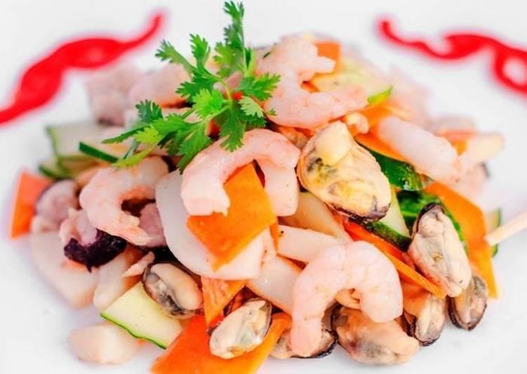 самых салат морской коктейль рецепты с фото главным достоинствам отделочных