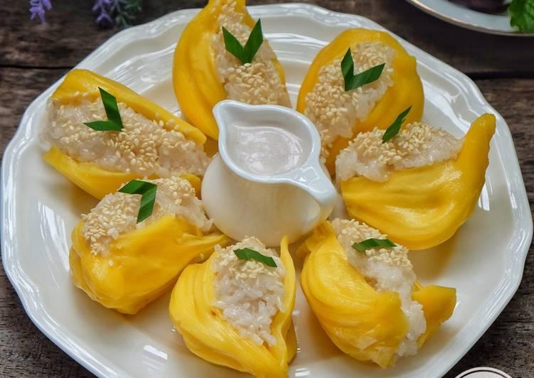 Ketan nangka (ala Thai)