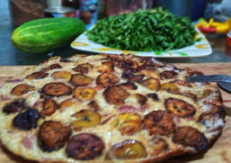How to Make Super Quick Homemade Plantain frittata