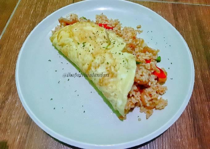 Sandwich Telur Nasi Gila