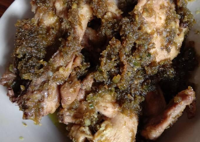 Ayam balado cabe ijo (sederhana tp maknyus) 😀