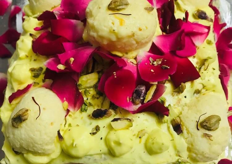 Step-by-Step Guide to Make Homemade Rasmalai cake