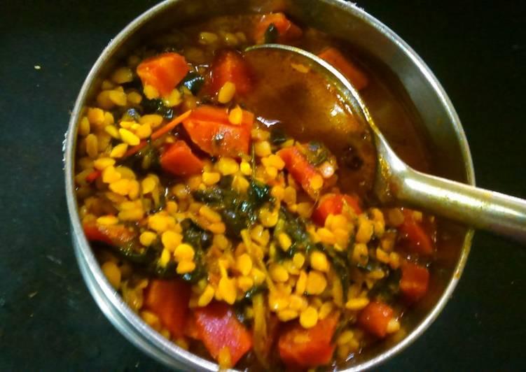 How to Prepare Homemade Carrot and Fenugreek sabzi