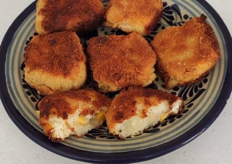 La Délicieuse Recette du Croquettes de pommes de terre au maïs