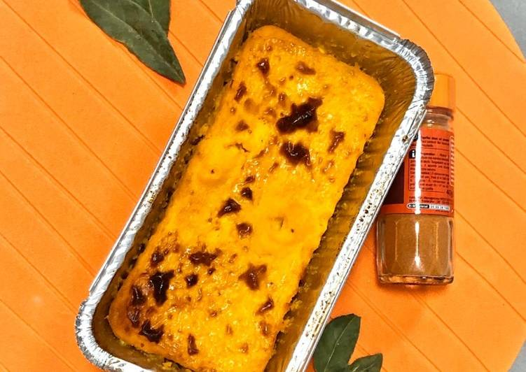 Flan de courge butternut