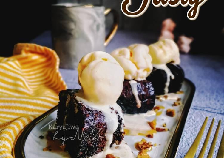 Brownies Tasty #MaratonRaya #RumahTerbuka #Minggu6