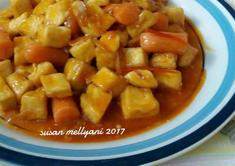 Resep Sosis tahu asam manis oleh Susan Mellyani - Cookpad