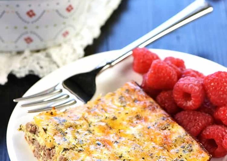 Recipe: Delicious Breakfast Casserole