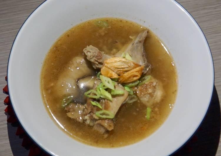 Sop Ayam Jahe