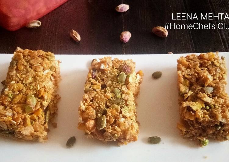 Simple Way to Prepare Perfect Desi Muesli Bars