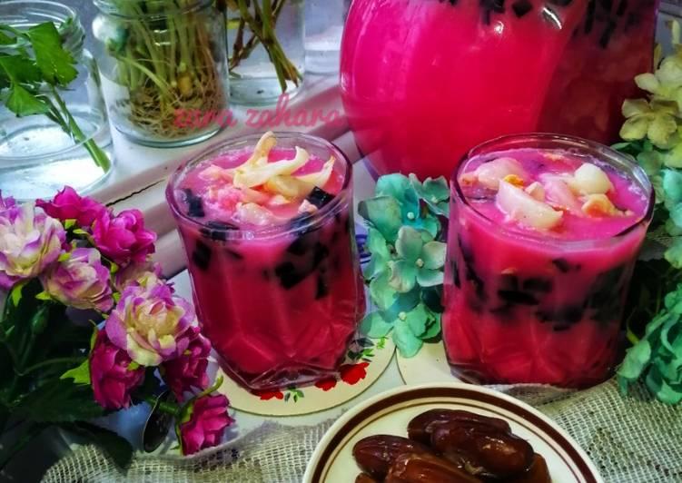 Bandung cincau laici #Minuman #MarathonRaya #MingguKedua - resepipouler.com