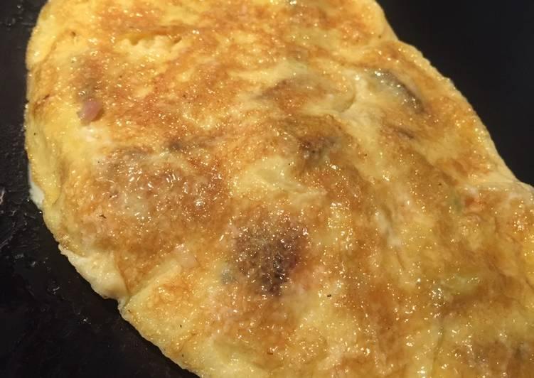 Omelette à la courgette