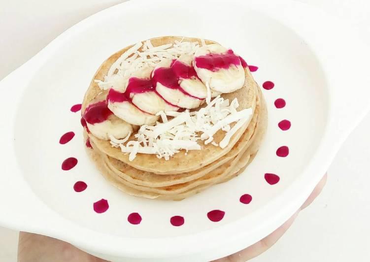 Banana Oat Pancake - MPASI