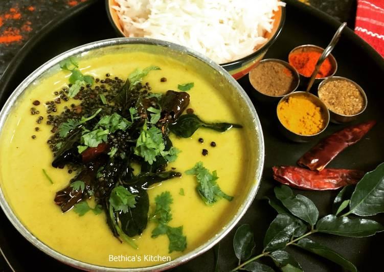 Recipe: Yummy Mor Kuzhambu