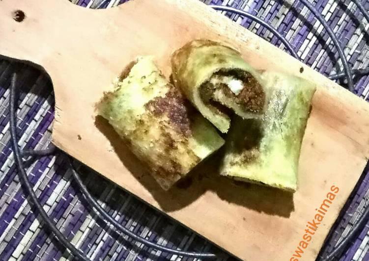 Roti Gulung Abon Sapi