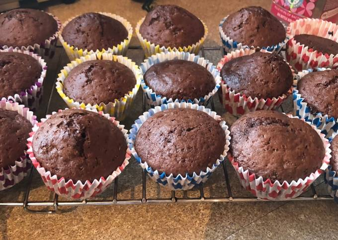 Steps to Prepare Favorite Chocolate muffins