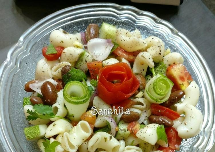 What are some Dinner Easy Super Quick Homemade Kidney beans macaroni salad