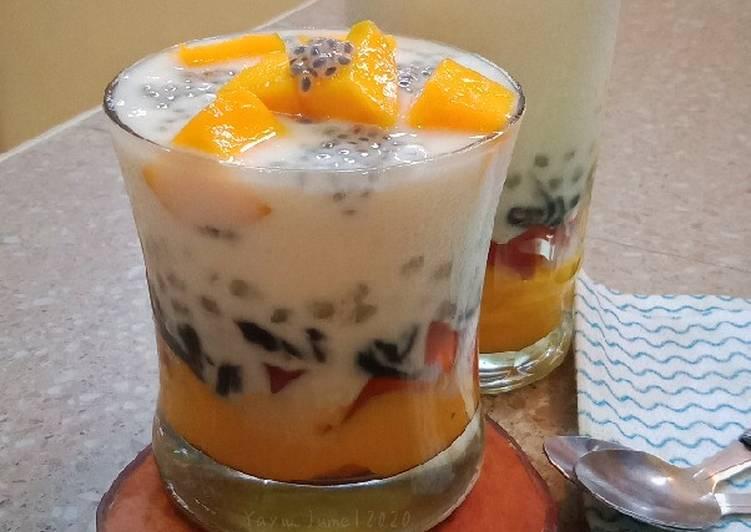 Mango Sago Jely