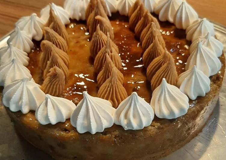 Recette Des Flan pâtissier aux marrons et brisures de châtaignes