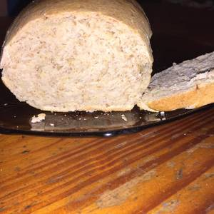 Pan integral saborizado sin levadura