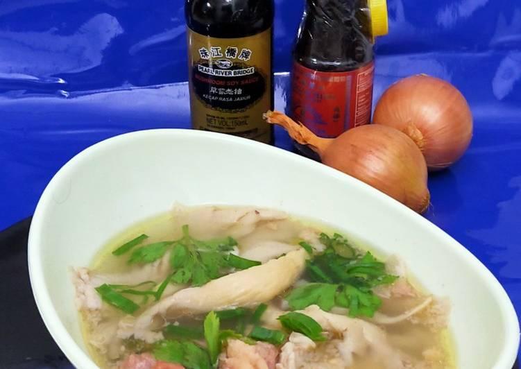 Resep Sup jamur jagung manis Yang Gampang Bikin Ngiler