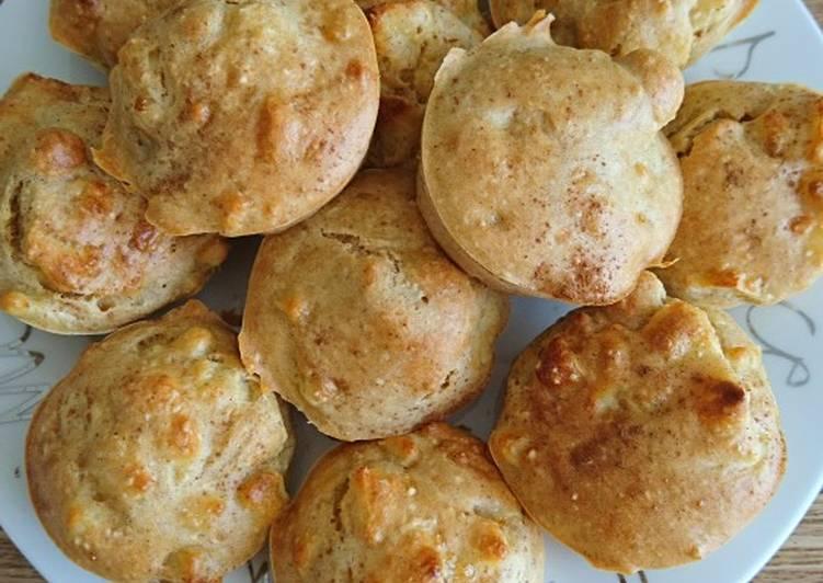 La Délicieuse Recette du Muffins healthy pommes
