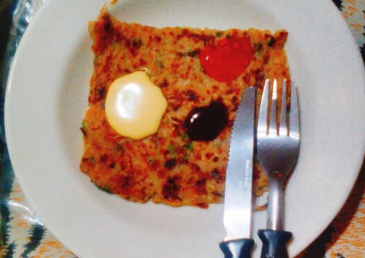 Japanese pancake - 'Okonomiyaki'