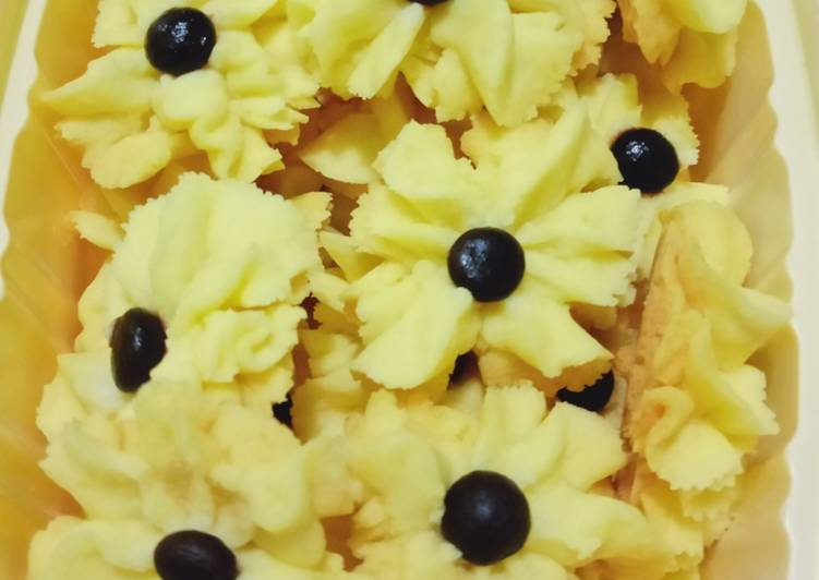 Kue Semprit Wajan (pake 3 bahan)
