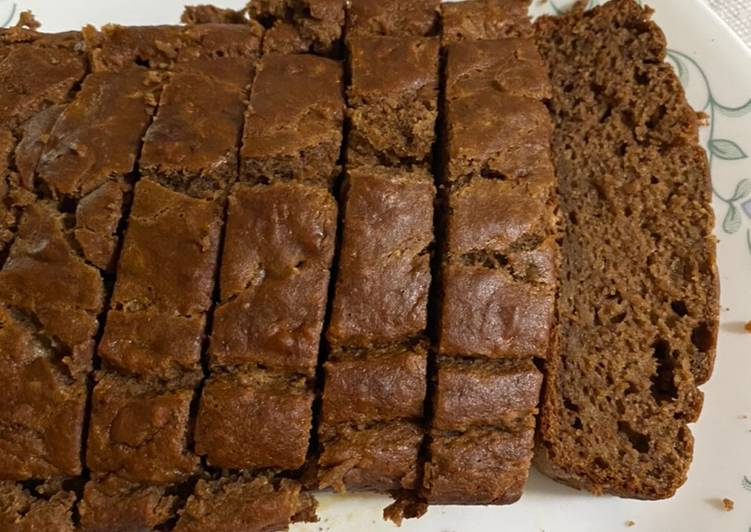 Recipe: Tasty Banana wheat choco bread