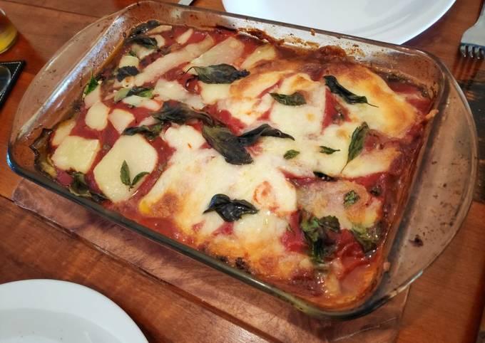 Eggplant Lasagne (Vegetarian/Vegan/Low Carb)