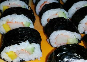 How to Cook Yummy Easy Sushi