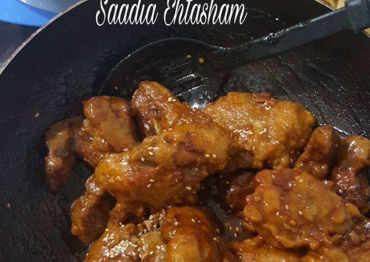 How to Make Favorite Honey chilli wings