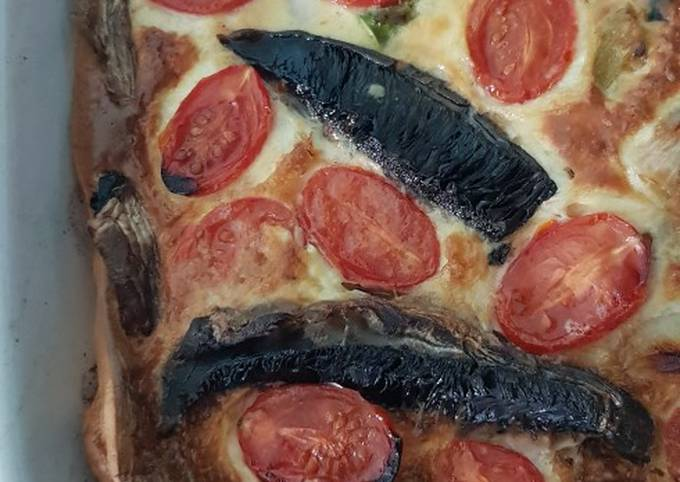 Veggie toad-in-the-hole
