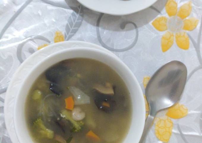 How To Cook Chinese soup Step by Step