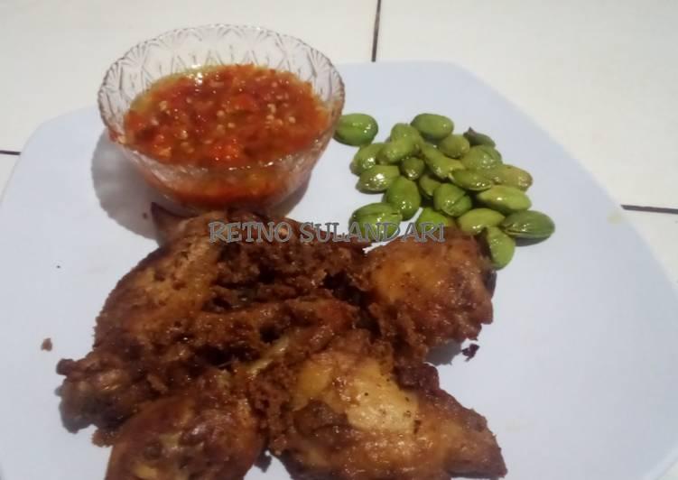 39c* Ayam goreng terasi