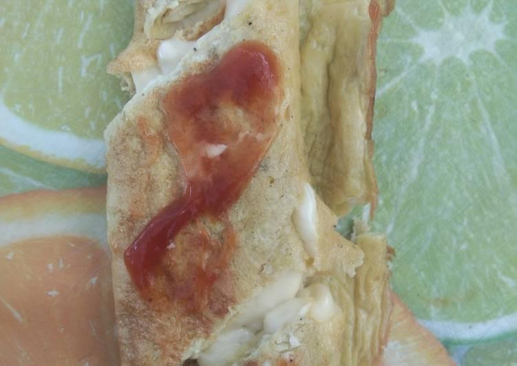Resep Telur Dadar Mozzarella DEBM