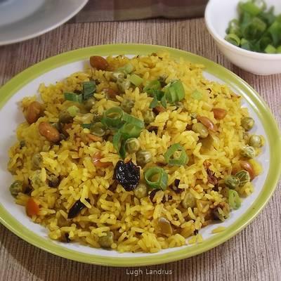 Pilaf De Arroz Y Vegetales Cocina Turca Receta De Lugh Landrus
