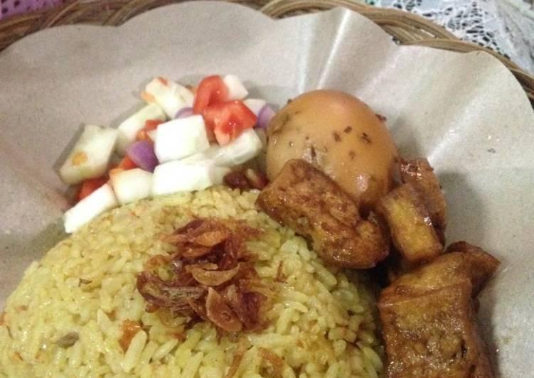 Nasi Minyak Palembang ala rumahan