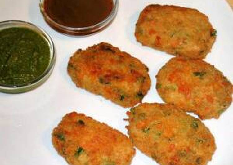 Vegetable Cutlets