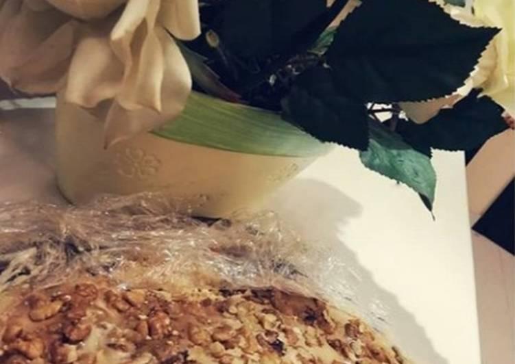 Caramel walnut delight