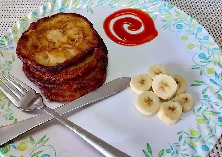 Banana oats pancake / fliters