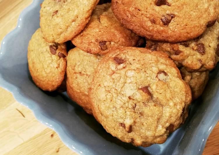 Comment faire Faire Délicieuse Cookies aux éclats de chocolat