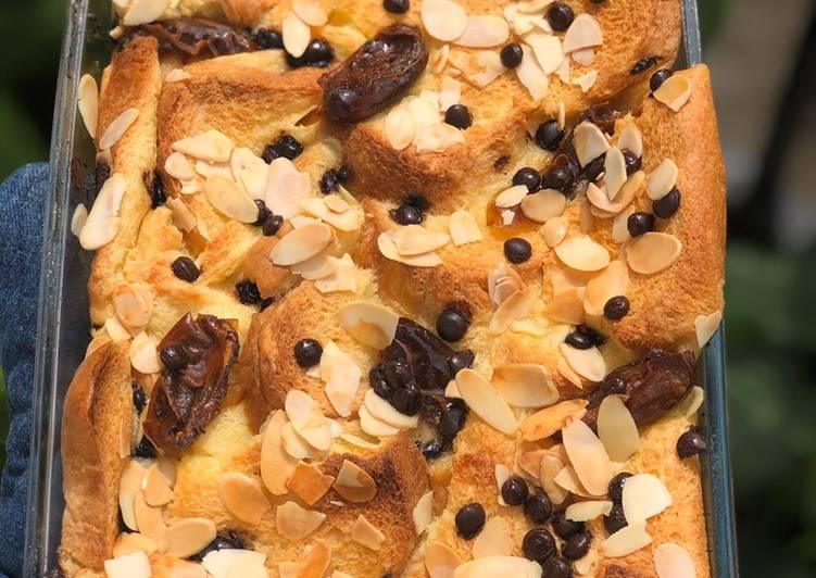 Bread pudding kurma  #takjil #ramadan
