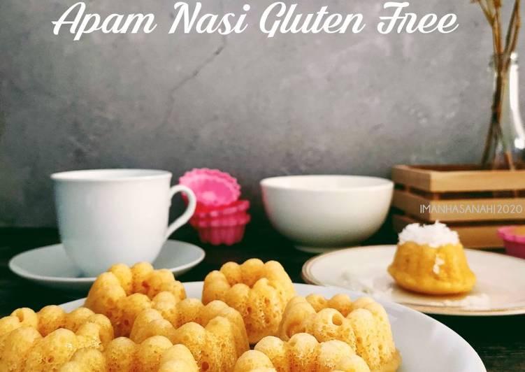 Apam Nasi Gluten Free - resepipouler.com