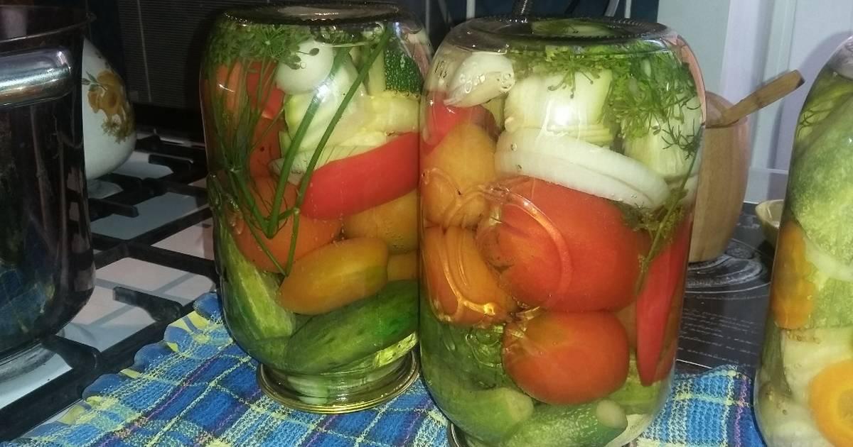 овощное ассорти на зиму рецепты и фото