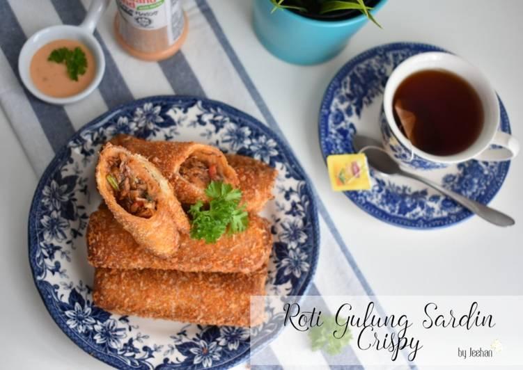 Roti Gulung Sardin Crispy - resepipouler.com