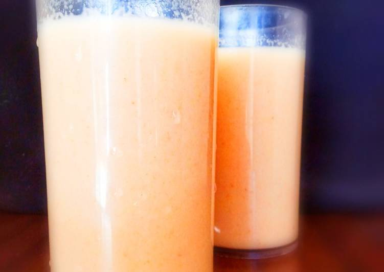 Step-by-Step Guide to Make Any-night-of-the-week Apple Almond Dates smoothie with coconut milk