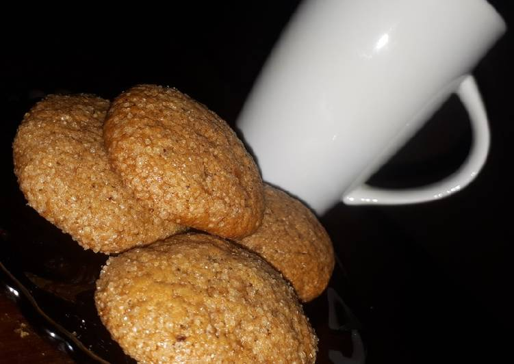 Ginger snaps #charity recipe