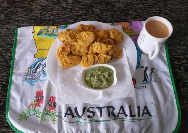 25 Minute Recipe of Autumn Maru Bhajiya #5 or less ingredients recipe contest