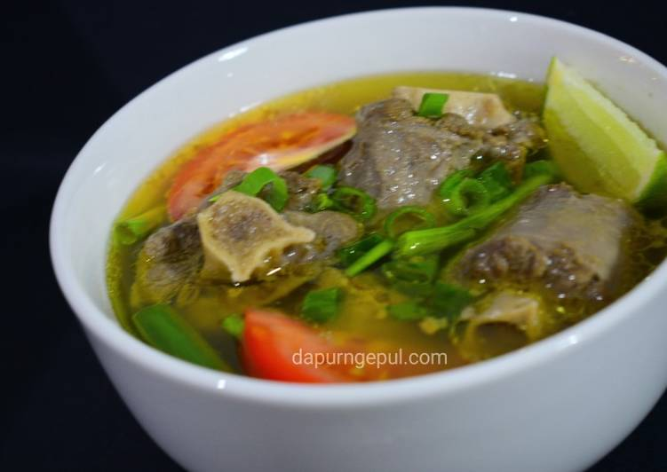 Sop Buntut Istimewa (menu special utk buka puasa)